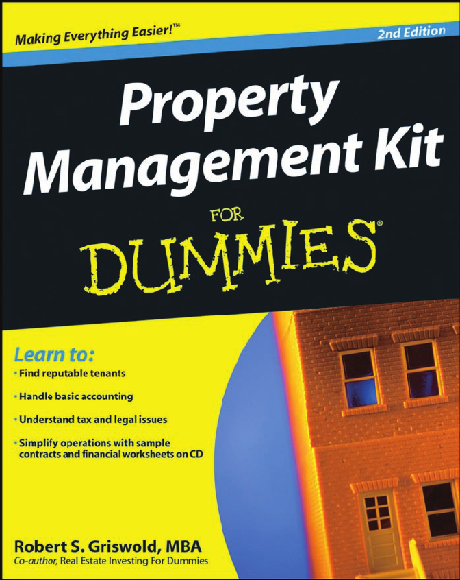 Property management kit for dummies fandeluxe Gallery